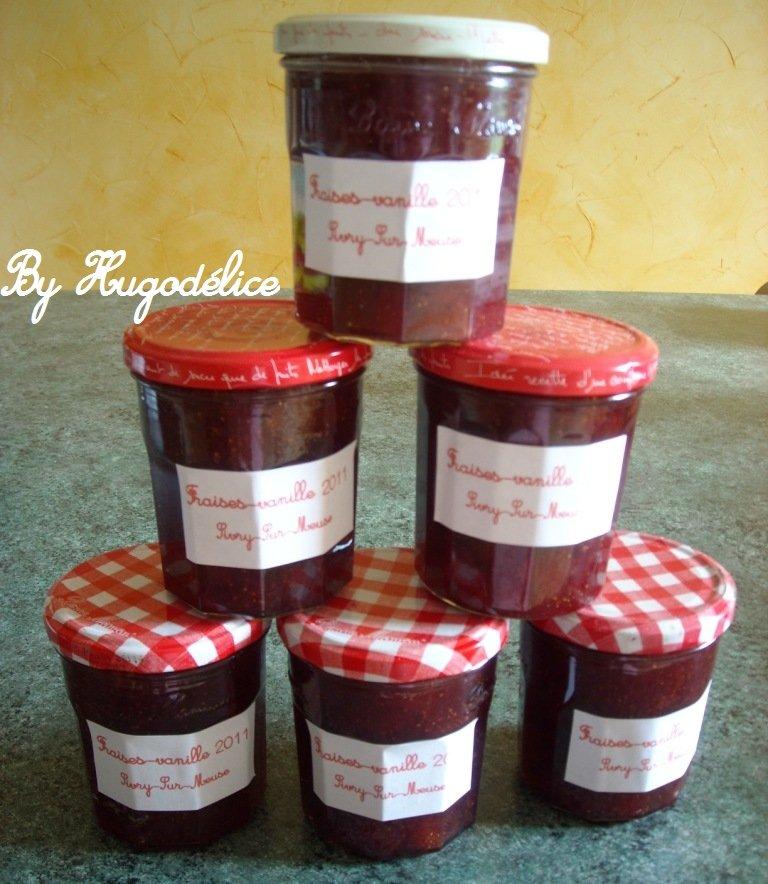 Confiture de fraises vanille maison hugod lice - Confiture de fraise maison ...