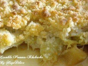 crumble-pommes-rhubarbe-2-300x225 dans Flans, crèmes, clafoutis...