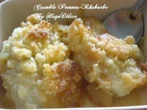 CRUMBLE POMMES-RHUBARBE dans desserts crumble-pommes-rhubarbe-300x225