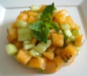 SALADE MELON CONCOMBRE MENTHE dans Allez-y c'est permis! salade-concombre-melon-menthe-300x263