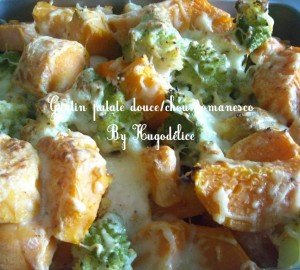 Gratin chou romanesco-patate douce dans Allez-y c'est permis! gratin-chou-romanesco-patate-douce-300x270