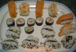 MAKIS, SUSHIS et CALIFORNIA ROLLS... dans Allez-y c'est permis! sushis-makis-etc-300x204