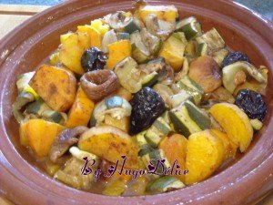 TAJINE COURGETTES-PATATE DOUCES aux FRUITS SECS dans légumes; accompagnement tajine-patate-douce-courgettes-pruneaux-figues-abricots-secs-300x225